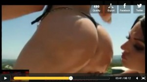 Alexis Texas & Ava Rose 2 huge caucasian ass walkin around