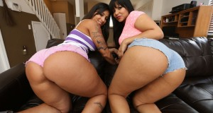 Rose Monroe and Spicy J combo of best and big latin azz pictures