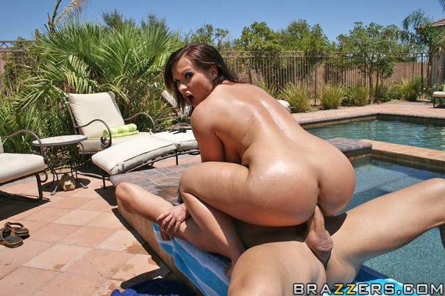 Katja Kassin Poolside big wet and hot butt fuck outdoor