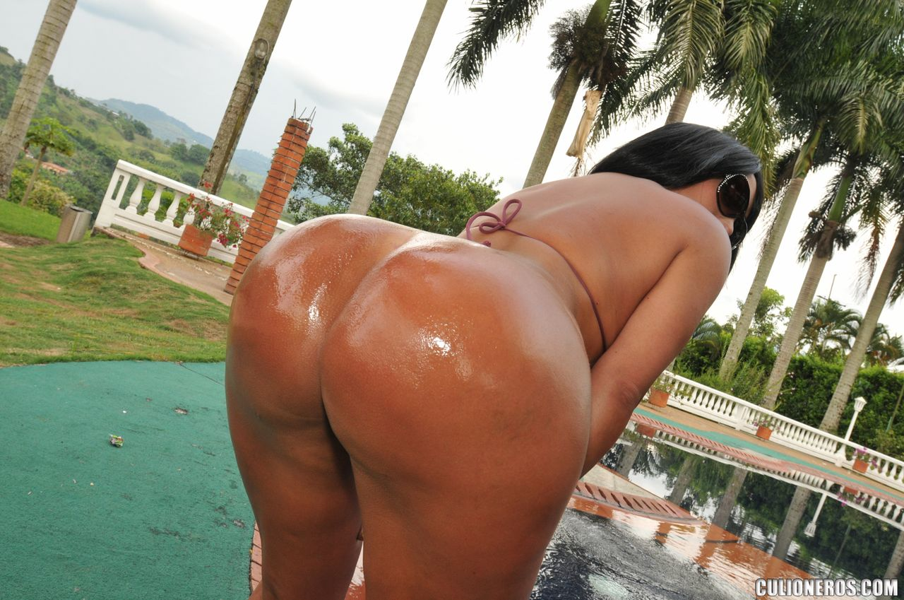 Big ass colombian
