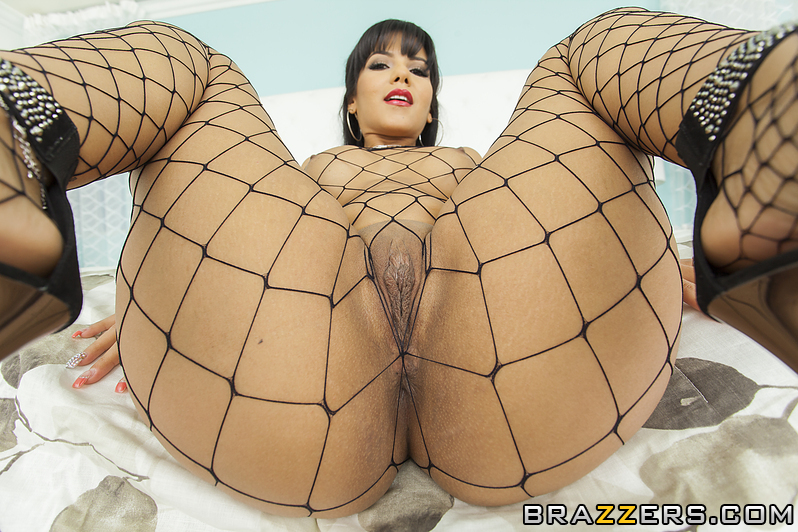 Fishnet big ass