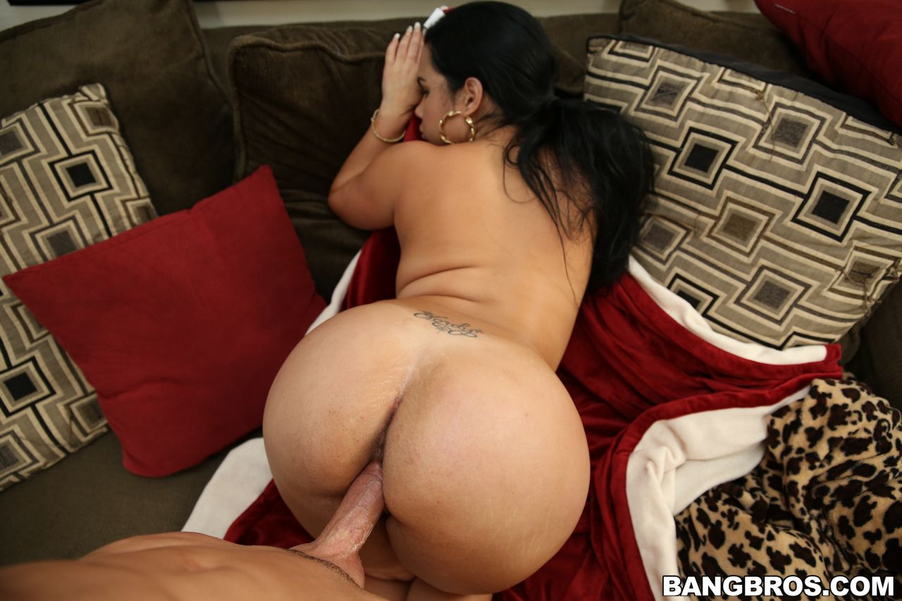 big ass cuban maid gets fucked