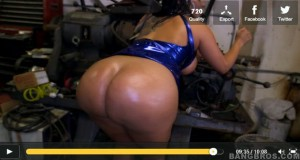 Huge Ass And Tits Kiara Mia At The Mechanic Shop