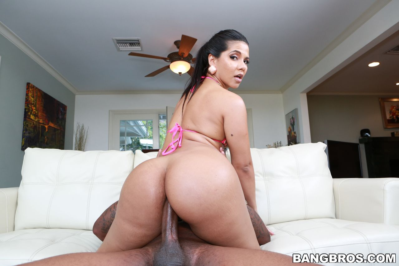 Latina Fucks Monster Cock