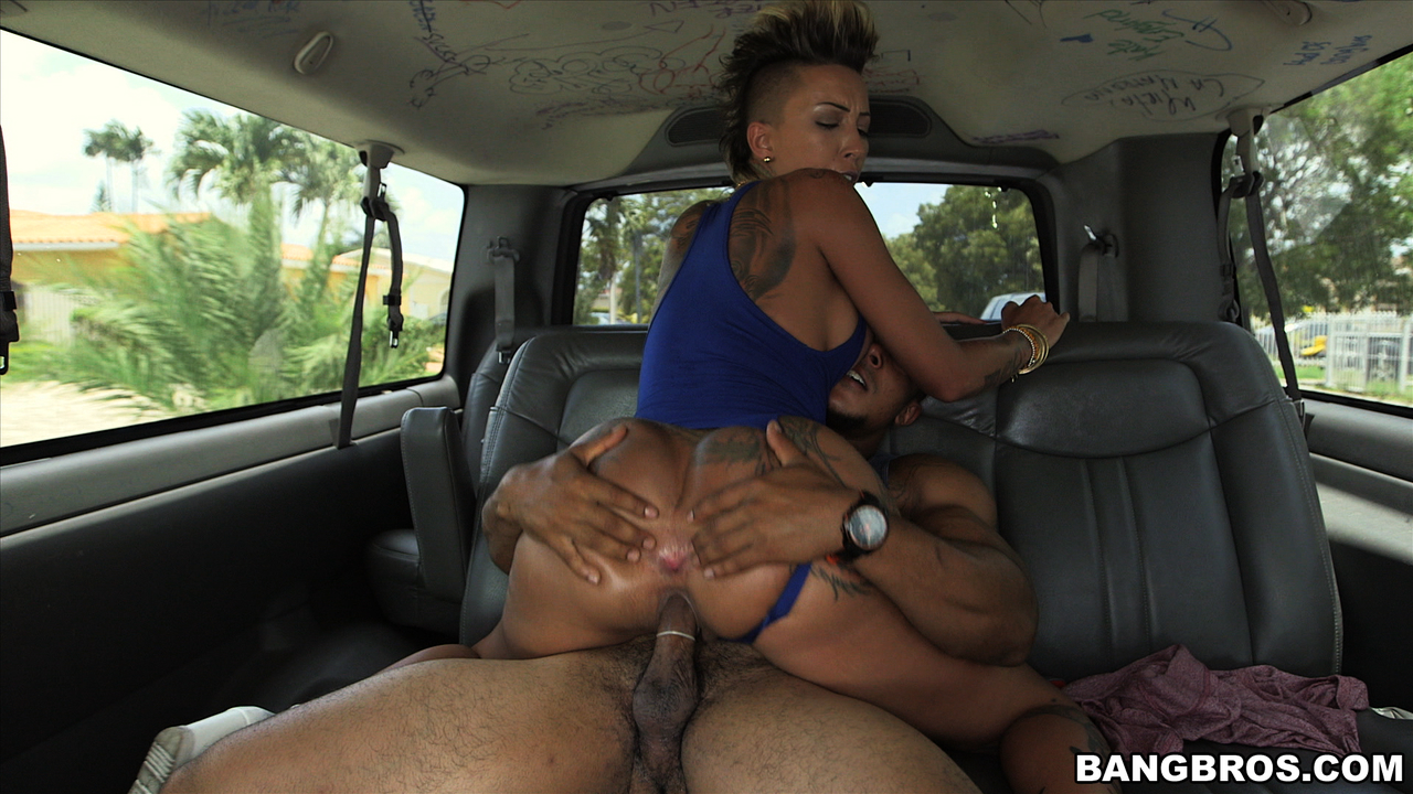 Commit hottie does anal on the bangbus not understand