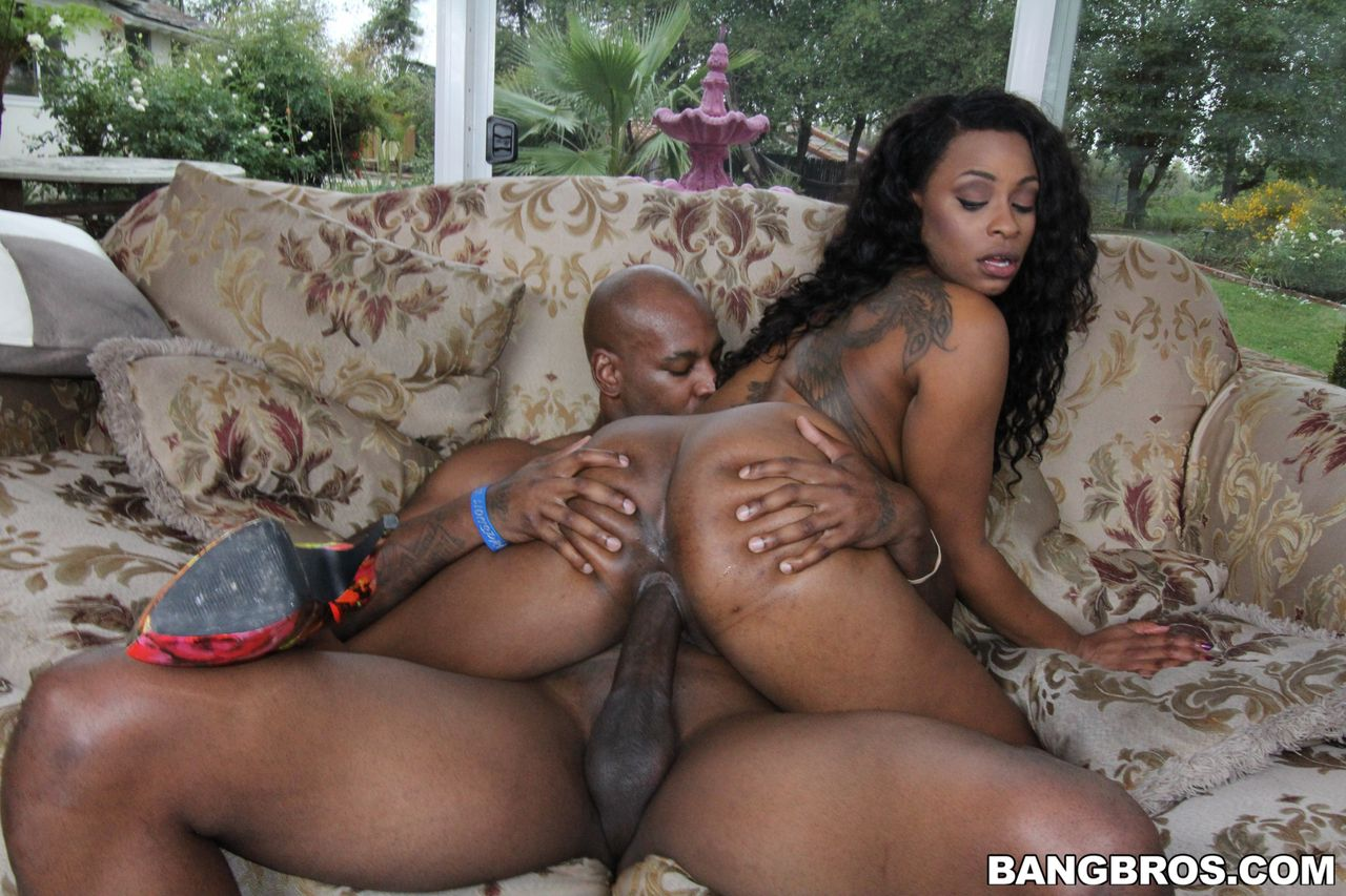 Ebony Thick Girl Fucked