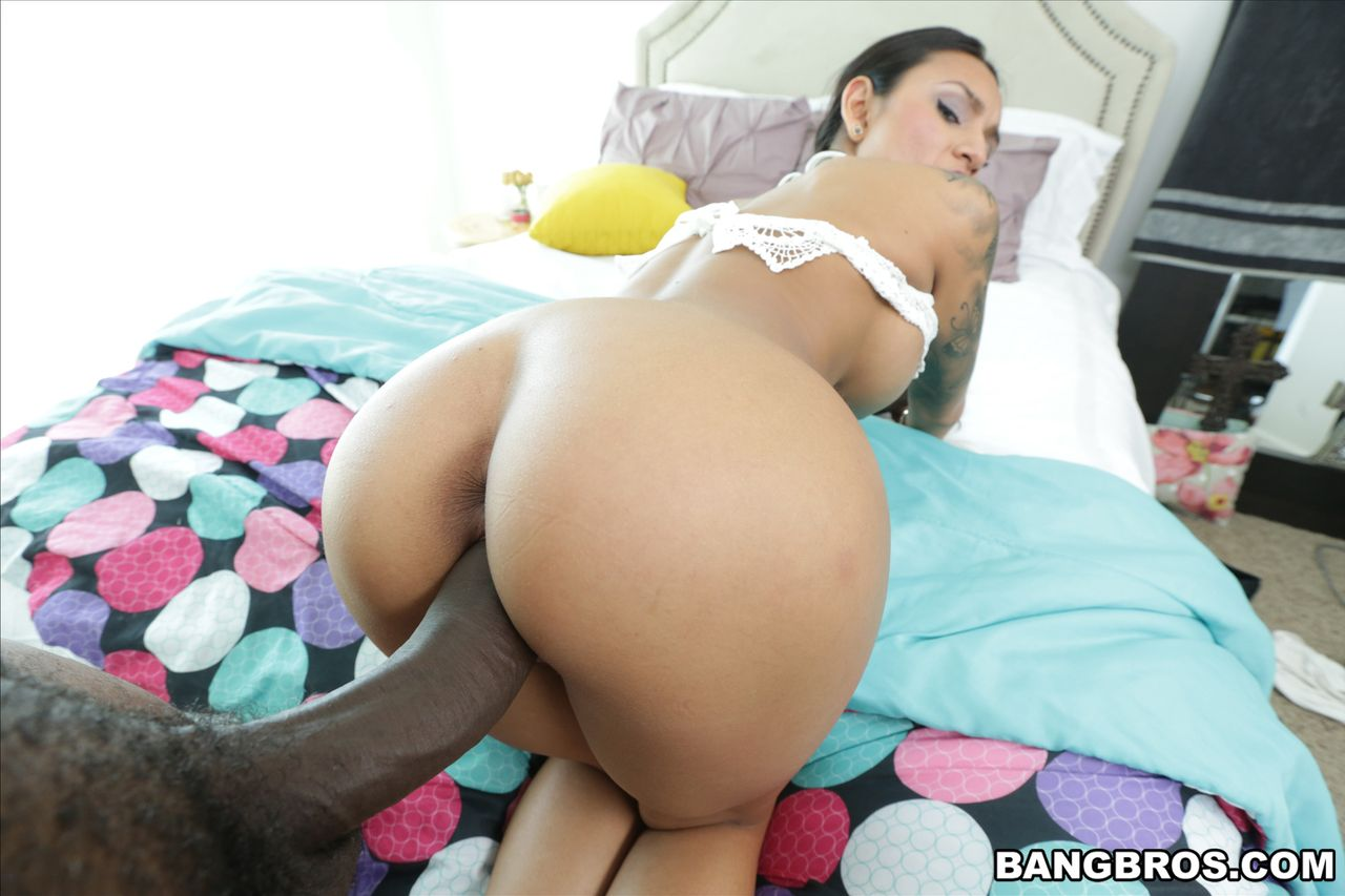 Latina Black Dick Gangbang